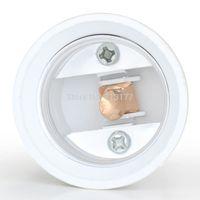 100pc/lot E27 200mm Screw ES E27 Flexible Lamp Holder Orientational Light Bulb Extension Length  Adapter Converter Socket Holder