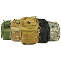 600D Molle Tactical Utility 3 Ways Shoulder Sling Pouch Backpack Chest Bag 5 Colors