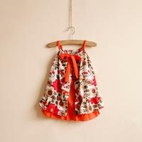 New 2014 Children's Garden Style Floral Dress For Girls