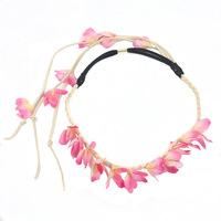 Artificial Flower Elastic HEADBAND Hair Band Head Women. 10 pc/lot, Wholesale