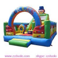 Inflatable Clown Bouncer Castle