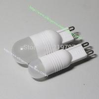 Droplight DC12V G9  2W ceramics body Crystal light CD34 For Chandelier Light mini led bulb + 6Pcs/Lot +Free ship