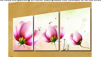 Hand-painted oil painting wall art Beautiful flowers decoration abstract Landscape oil painting on canvas DM-0004
