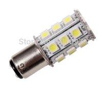 NEW BA15D 1142 1076 SMD bulb car light White 24-5050 SMD LED DC 12V