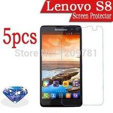 5pcs Cell phone Diamond Sparkling LCD Screen Protective Film For Lenovo S8,New Lenovo S8 Screen Protector.A516 S820 A820 A766 S8