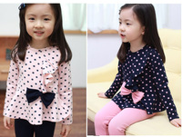 Girls Spring New bottoming bottoming shirt long-sleeved pants + princess piece fitted T-shirt TZ26A04