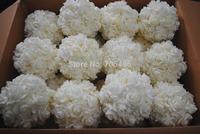 7''  18cm Artifiical Kissing Foam Rose Flower Ball Wedding Centerpiece Decorative Flowers & Wreaths 14pcs/lot Free Shipping
