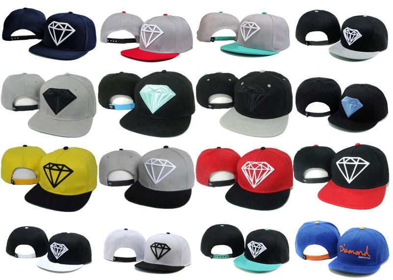 Diamond Supply Co Snapback hats Brand new classic men & women's designer baseball caps adjustable football sports hat(China (Mainland))