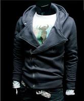Hot MRPK, 2014 new,hoodies men, many zipper, self-cultivation hooded, men's sweater coat, men's jackets,size:M-XXL