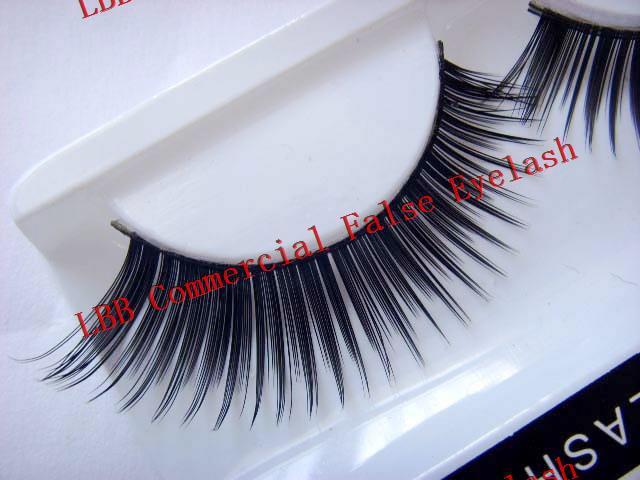 Natural long false eyelash top quality false eye lash extensions brand eye makeup cosmetics artificial eyelash w002(China (Mainland))