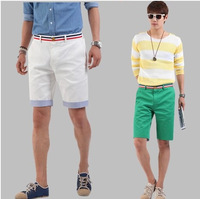 Hot Sale Male 100% Cotton Beach Shorts  Men Polo  High Quality Summer Sports Shorts Swimwear For Men Beach Shorts Sportswear