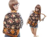 2014 new women backpack printing backpack school backpacks canvas backpack