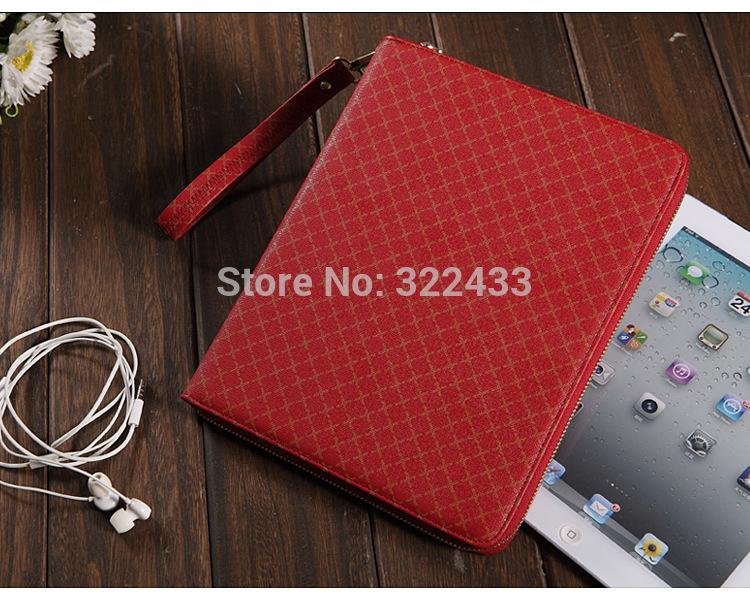 10pcs Luxury handbag For iPad Mini/ mini 2 360 rotating PU Leather case W/Auto Sleep /Card slot for Apple Tablet PC Free DHL(China (Mainland))