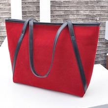 Hot New 2014 Women handbag Simple Large Capacity Shoulder bags Casual Handbags Women travel bags Beach bag Tote Brand bags    (China (Mainland))