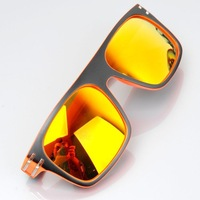 5 colors to choose from 2014 new high quality women's sunglasses Fashion Accessories Resin Lens Windproof cycling glasses 1pcs