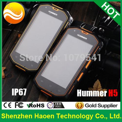Waterproof Rugged Phones Android, Rugged Mobile Phones Android, Rugged Cell phones Military Class Original Hummer H5(China (Mainland))