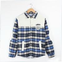 Autumn and winter fashion leisure lattice stitching hoodies