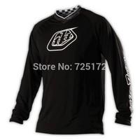 Free shipping TLD GP Midnight Motocross Jersey/MX MTB Cycling Bicycle Bike Jersey T-shirt Clothing Wear Black