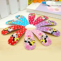 Cartoon Fashion Children Hairpins Baby Girl Hair Clip Hiar Pins Hair Accessories  BB clips Small Size BB002