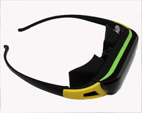 8GB Memory Wireless Movie Eyewear 84 inch Wide Virtual Screen 3D Video Glasses ,free shipping