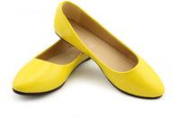 Fashion women shoes 5 colors solid color patent PU shoes woman candy colors new 2014 flat shoes ballet princess shoes for casual