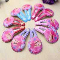Cartoon Fashion Princess Baby Girl Hairpins  Hair Clip Hiar Pins Hair Accessories Headbands  BB clips Small Size BB002