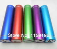 100pcs/lot High Quality Cheap Price Portable Mobile Power Bank 2600mAh With Retail Box Can Make Logo Fedex Lighting Delivery