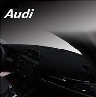Free shipping/Car instrument desk pad/prevented bask  anti-glare pad fit for Audi A6L Q7 A4L Q5 A8L Q3 S7 TT TTS A7 A3 A1 S7