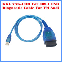 2014 Vag 409 VAG-COM 409.1 Vag Com 409.1 KKL OBD 2  VAG409.1 Diagnostic Cable Scanner Scan Tool USB Interface For Audi VW
