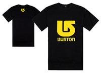 Hiphop bboy Burton tee shirts short sleeve t-shirts cheap o neck tees men's t shirt  Freeshipping 17 different styles