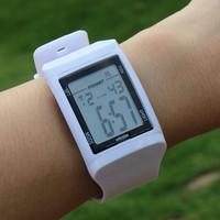 Rubber Ninjas style 2014 new Brand POPART Men girls wristwatch Stylish 50 m Water Resistant functional Digital Watch for unisex.