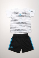 2014Hot ree Shipping Retail 1 set baby summer sets short sleeves clothing sets sports suits