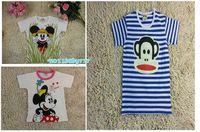 New baby girls Tops Shirts& boys cool T shirt cartoon pattern size: (2-6years)