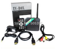 AUXTEK AT-01 Android 4.2 OS Smart PC Dual Core 2.0MP Camera MIC Rj45 WIFI HDMI Ethernet AV Full HD TV Box D2270A