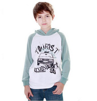 Free shipping 2014 kids spring outerwear boys pullovers long-sleeved hooded sweatshirts boys hoodies