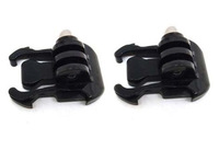 Free shipping 2PCS/Lot for Gopro Accessories Quick Release black Buckle basic Mount Base For Gopro 1 2 3 SupTig Camera GP06