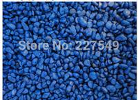The tank foundation stones Little blue stone stone Marine