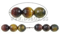 Free shipping!!!Tiger Eye Beads,Men Jewelry, Round, 14mm, Hole:Approx 1mm, Length:15.5 Inch, 5Strands/Lot, Sold By Lot