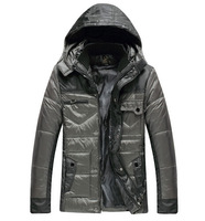 free shipping men's down jacket ,hooded fashion men's winter jacket , men's warm coat down jacket 78