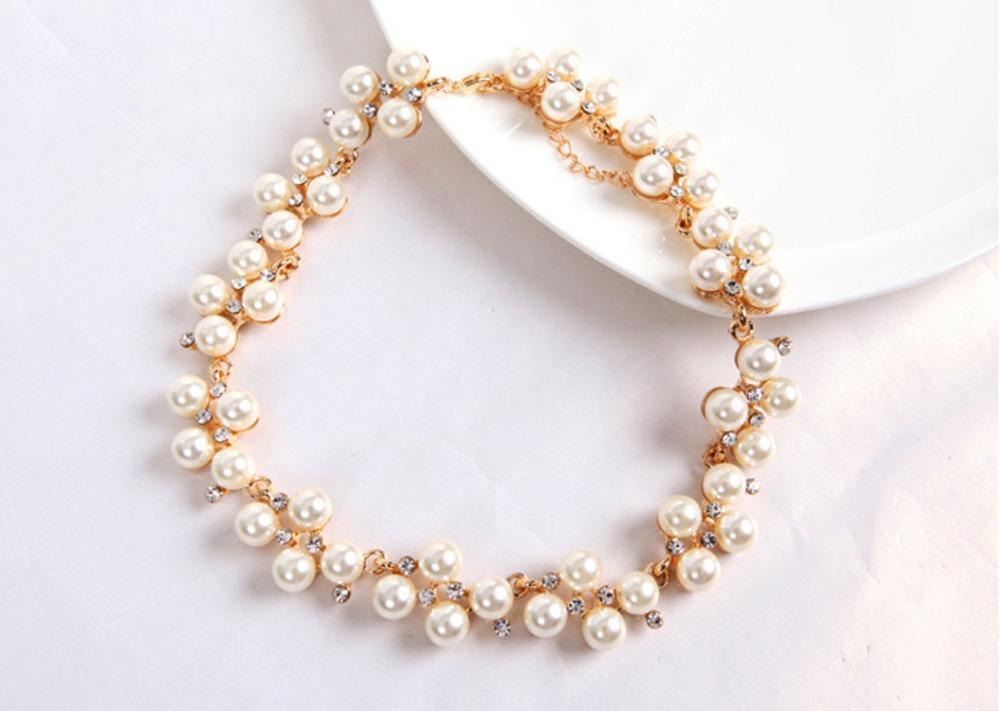 Popular-font-b-Jewelry-b-font-Temperament-Elegant-font-b-Lavish-b-font-Pearl-Rhinestone-Collar