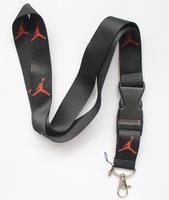 New 10 pcsBlack The Brand Sport Logo lanyard/Neck Strap/Employee's card hanging rope/Lanyard Free shiping