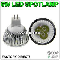 50pcs/lot free shipping MR16 spot lamp 12v ac dc 24v dc MR16 flood light bulbs gu5.3 base