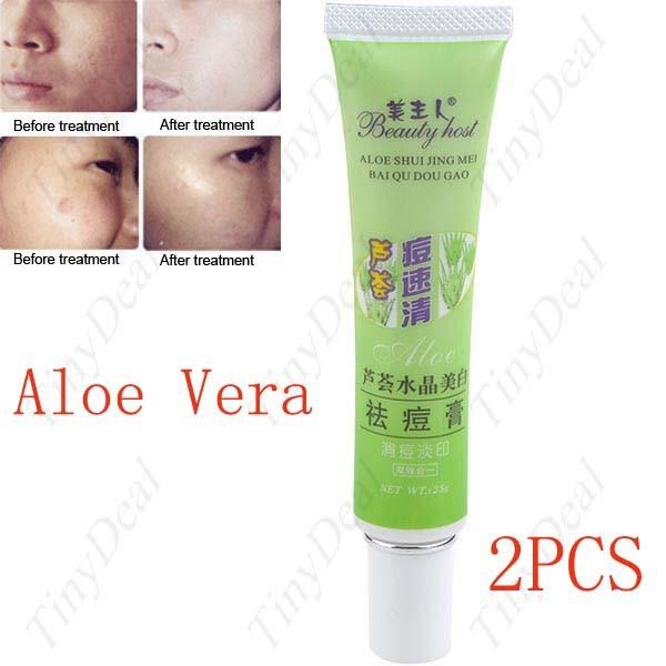 Aloe acne rimuovere fuga dissipare gesso crema di cura della pelle