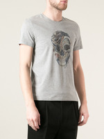 Free Shipping 2014 summer MCQ brand sport Men's T shirts,fashion printed top brand t shirts for men, men's cotton T-Shirt