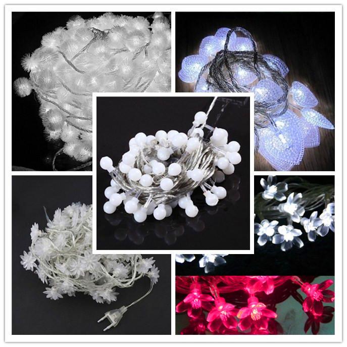 Светодиодная лампа New 5m 20 2015 5m 20 beads LED ball strings