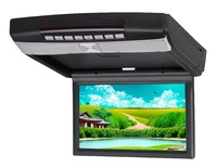"9"" inch in car Anti - Shock Flip down / Overhead / Roof mount DVD Player With USB SD IR FM SPK 32-Bit Game Wireless Joysticks"