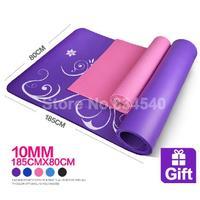 10mm yoga mat to increase 185 * 80cm blanket yoga mat fitness mat