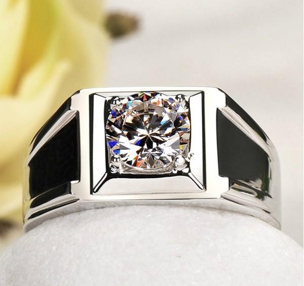 Silver Rings For Boys Diamond ring for man