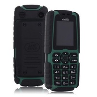 "1.77 "" original Xiaocai X6 Bar Cheap Outdoor GSM Mobile phone  MTK6250D Flashlight BT with 5000mAh Mobile Charger Dual SIM Card"