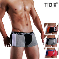 High Quality Men Underwear Boxers Cotton Underwear Mens Boxer Shorts 1pcs/lot (M,L,XL,XXL)